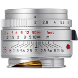 Leica 35mm f/2.0 Summicron-M ASPH Lens- Silver *Special Order Only*