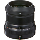 Fuji XF 23mm f/2 R WR Lens- Black