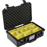 Pelican 1485AirWD Compact Hand-Carry Case With Dividers- Black