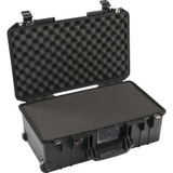 Pelican 1535Air Wheeled Carry-On Case With Pick-N-Pluck Foam- Black