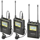Saramonic UWMIC9 RX9 + TX9 + TX9, 96-Channel Digital UHF Wireless Dual Lavalier Mic System (514 to 596 MHz)