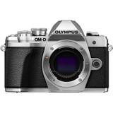 Olympus OM-D E-M10 Mark III Mirrorless Micro Four Thirds Digital Camera Body Only- Silver