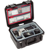 SKB iSeries 1309-6 Case with Think Tank-Designed Photo Dividers & Lid Organizer- Black