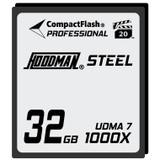 Hoodman Steel 1000x Compact Flash Memory Card- 32gb