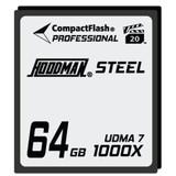 Hoodman Steel 1000x Compact Flash Memory Card- 64gb