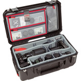 SKB iSeries 2011-7 Case with Think Tank-Designed Photo Dividers & Lid Organizer- Black