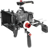 SHAPE Blackmagic Pocket Cinema 4K Shoulder Mount, Matte Box, Follow Focus