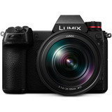 Panasonic Lumix S1 Mirrorless Digital Camera with 24-105mm f/4 L-Mount Lens- Black