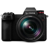 Panasonic Lumix S1R Mirrorless Digital Camera with 24-105mm f/4 L-Mount Lens- Black