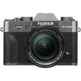 Fujifilm X-T30 Mirrorless Digital Camera with 18-55mm Lens- Charcoal Silver
