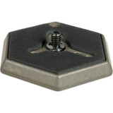 "Manfrotto 030-14 Hexagonal Quick Release Plate with 1/4""-20 Screw"