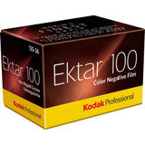 Kodak Professional Ektar 100 Color Negative Film- 35mm Roll Film, 36 Exposures