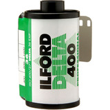Ilford Delta 400 Professional Black and White Negative Film- 35mm Roll Film, 36 Exposures