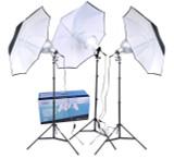 RPS Studio 3 Light Photoflood Umbrella Kit *Special Order Only*