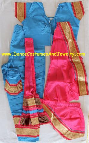 Indian classical dance costume