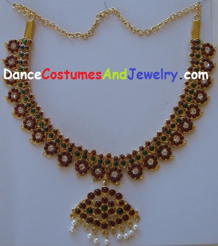 Temple jewellery choker