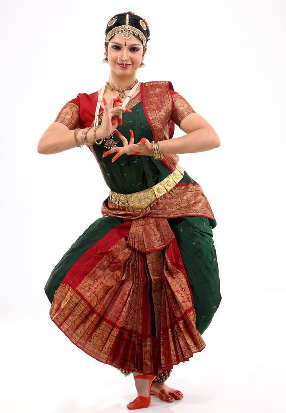 27ffcad8cd ... Dance Costume Stitching; Kuchipudi or Bharatanatyam dress stitched from  Apoorva silk saree. Hover over image to zoom