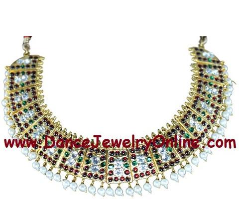 Dance jewellery choker