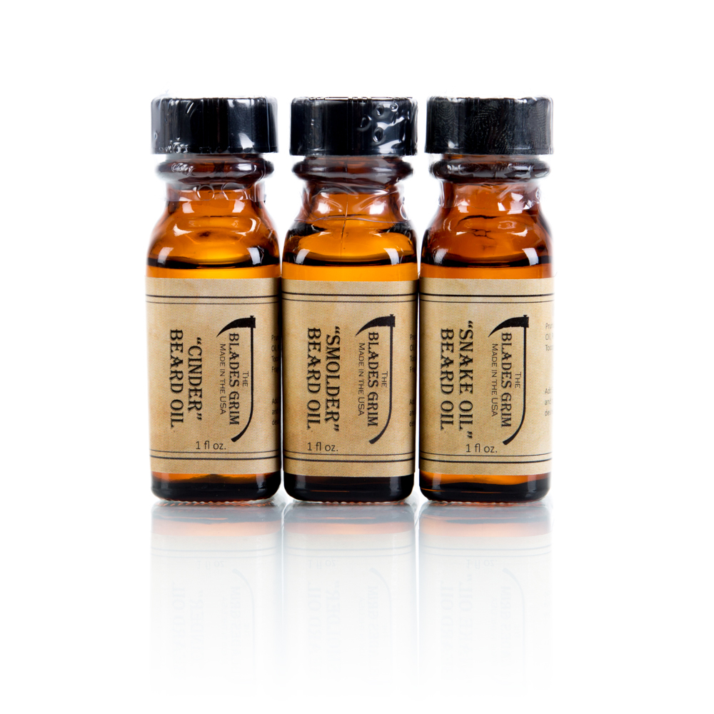 The Blades Grim Beard Oils