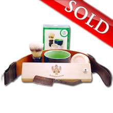 $100 off a Custom Designed Japanese Straight Razor and Shaving Set