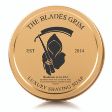 "The Blades Grim Gold Luxury Shaving Soap - ""Reaper"""