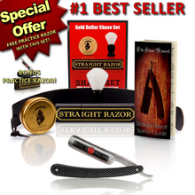 Shave Ready - Gold Dollar Straight Razor Shave Kit - RMRS