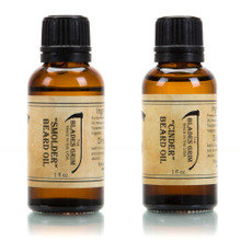Smolder & Cinder 2 Pack Beard Oil - The Blades Grim