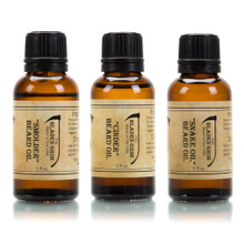 Smolder, Cinder & Snake Oil 3 Pack Beard Oil - The Blades Grim
