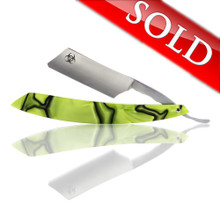 "J2Customs 7/8"" ""Toxic"" Custom Straight Razor"