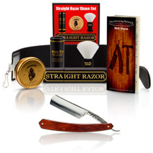 "Red Stamina 6/8"" Razor with Luxury Shave Set"