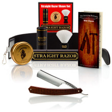 "Snakewood 6/8"" Razor with Luxury Shave Set"