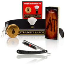 FIND THE CAMEL! Give-Away Shave Ready - Gold Dollar Straight Razor With Premium Shave Kit