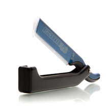 Dovo 'Shavette' Blue With Black Handle