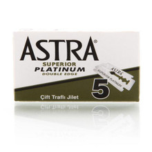 Astra Platinum Double Edge Blades - 5 pack
