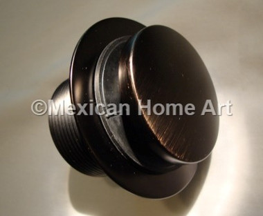 Toe touch drain for Copper Bathtubs in Oil Rubbed Bronze picture 2