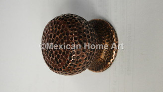 Hand Hammered Copper Knobs & Drawer Pulls, Standard and Custom
