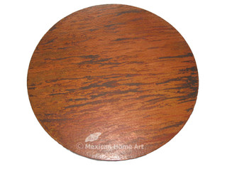 """Copper Lazy Susan 24"""" in New Natural"""