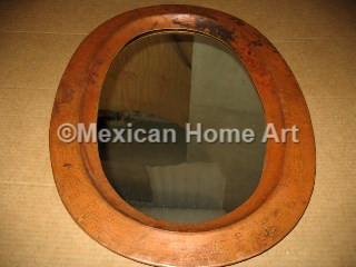 Copper Oval Mirror Frame for CS