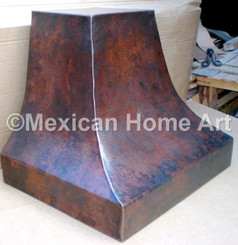 Copper Range Hood Wall Mount 36""