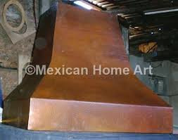 Copper Range Hood Wall Mount 48""