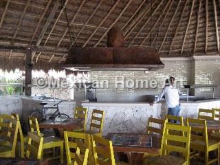 Copper Restaurant Range Hood for Bar Somber Patina