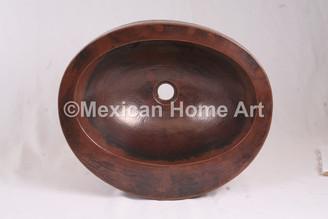 Copper Sink Bathroom Vessel
