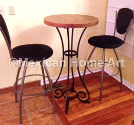 "Custom Copper Pub Table 24 ""El Bistro"""
