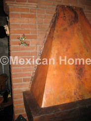 Custom Copper Chimney Cover for DS
