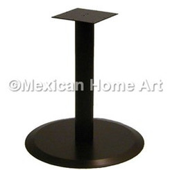 Table base for Flat Disc Copper table top