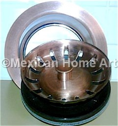 Garbage Disposal Flange and Stopper with Strainer Basket 2