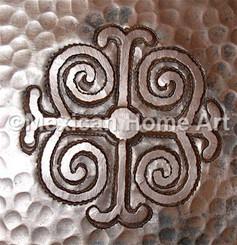 Copper Tile Desoign 1 Motif