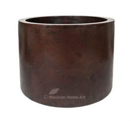 Hand Hammered Copper Japanese Soaking Tub 42x30 Bathroom Design