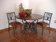 "The ""Celaya"" Copper Dining Table and Chairs"