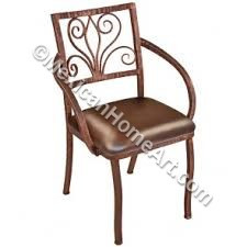 """Celaya"" Hand Forged  Arm Chair"